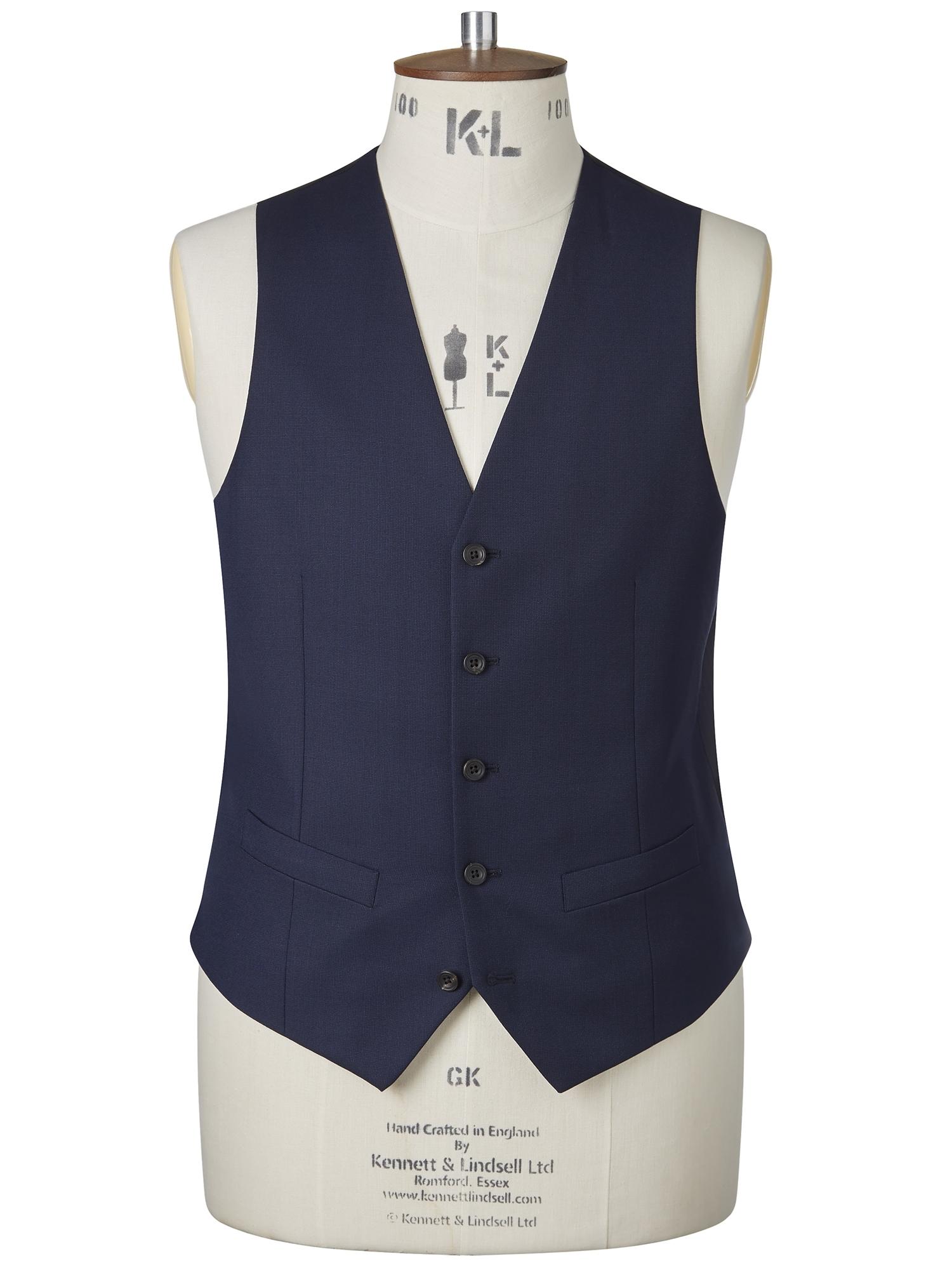 CHESTER BARRIE Fine Pindot Berkeley Suit Waistcoat