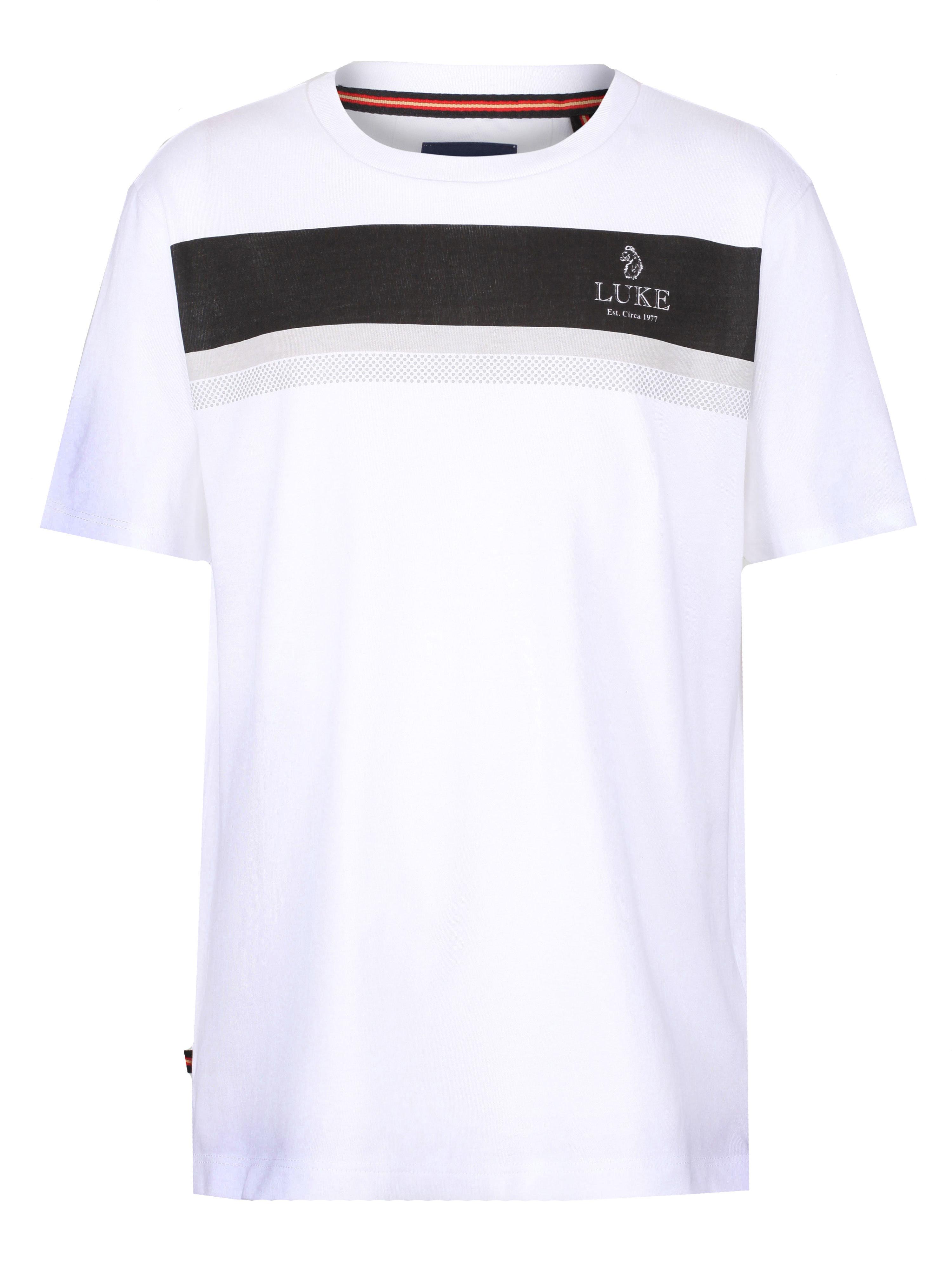 LUKE 1977 Stretchade Printed T-Shirt