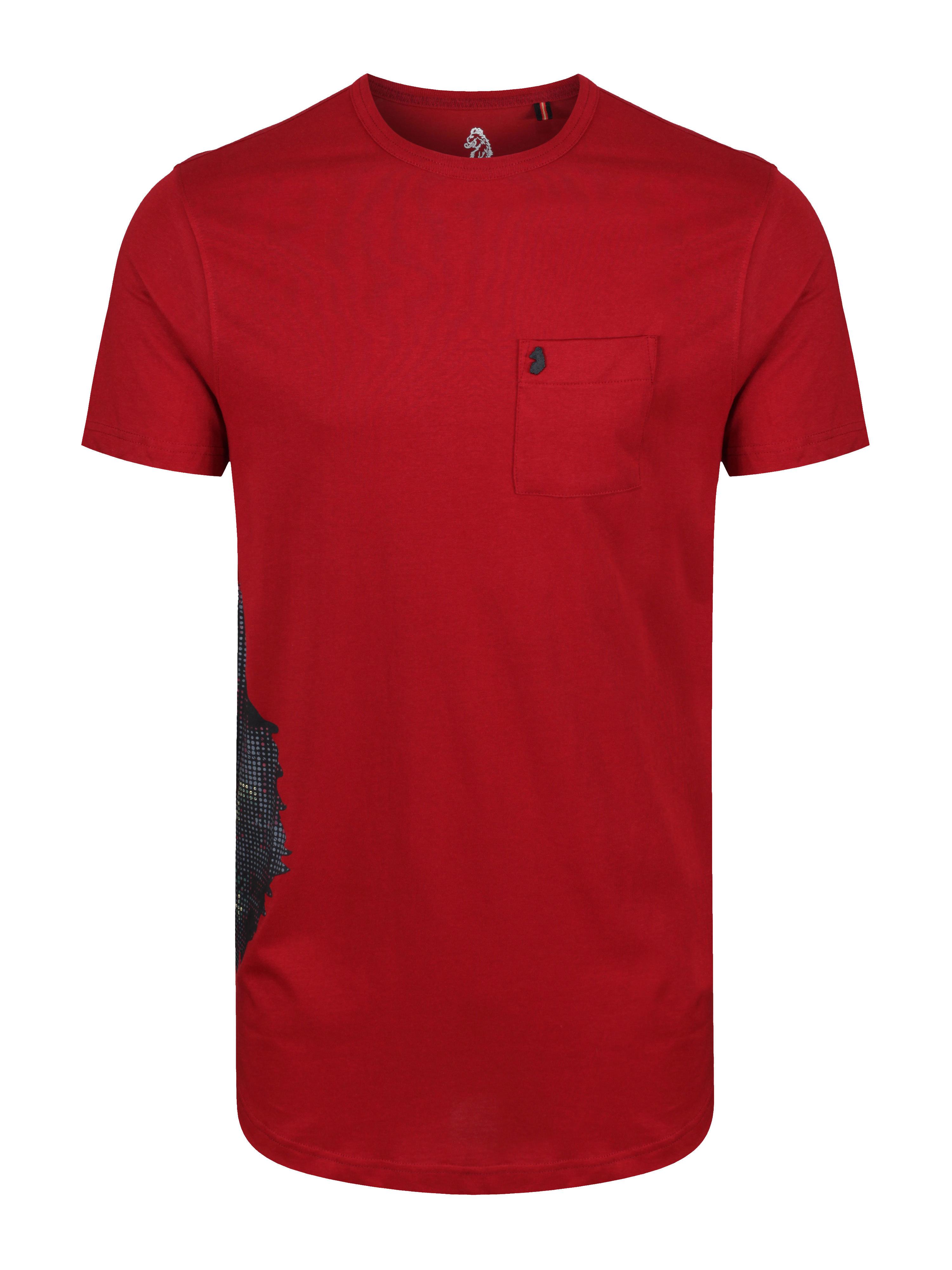 LUKE 1977 Positive Lion Side Seam Printed T-Shirt