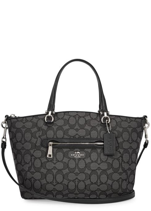Coach Prairie monogrammed shoulder bag - Harvey Nichols 5141ce17326ba