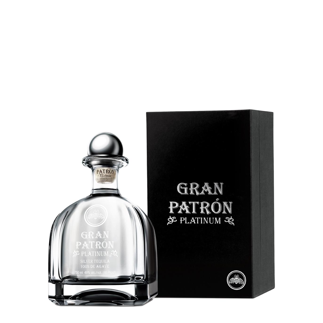 Patron Gran Patrón Platinum Silver Tequila - Harvey Nichols 2c3c832cf6b4