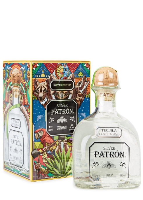 Patron Silver Tequila Limited Edition Heritage Tin 2018 - Harvey Nichols 4fa6d72a13ba
