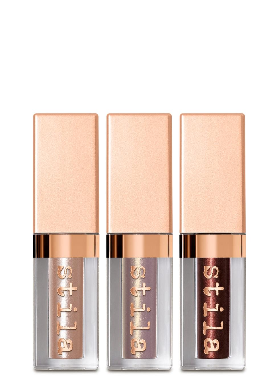 Shimmering Heights Shimmer & Glow Liquid Eyeshadow Set - Stila