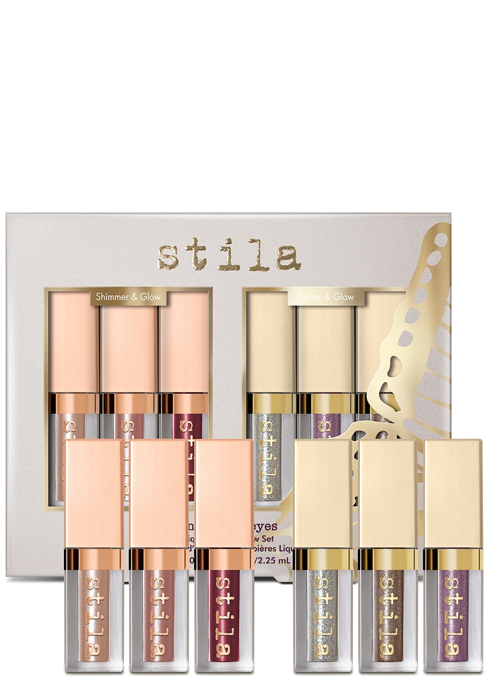Enchanted Eyes Shimmer & Glow Liquid Eyeshadow Set - Stila