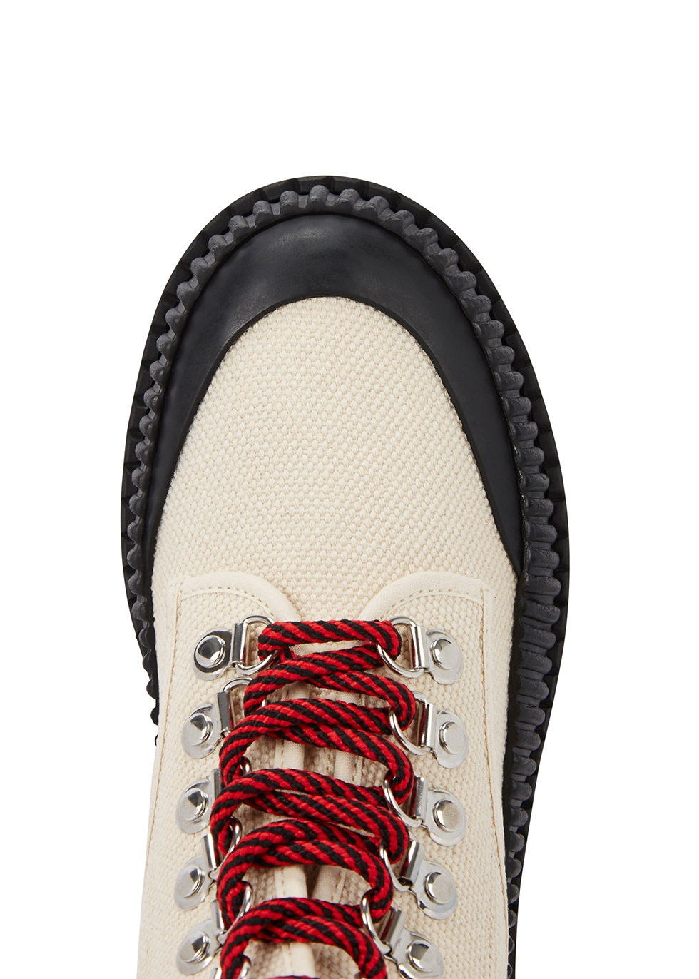 50 ecru canvas ankle boots - Proenza Schouler