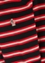 Grenoble Ciclista striped wool-blend jumper - Moncler