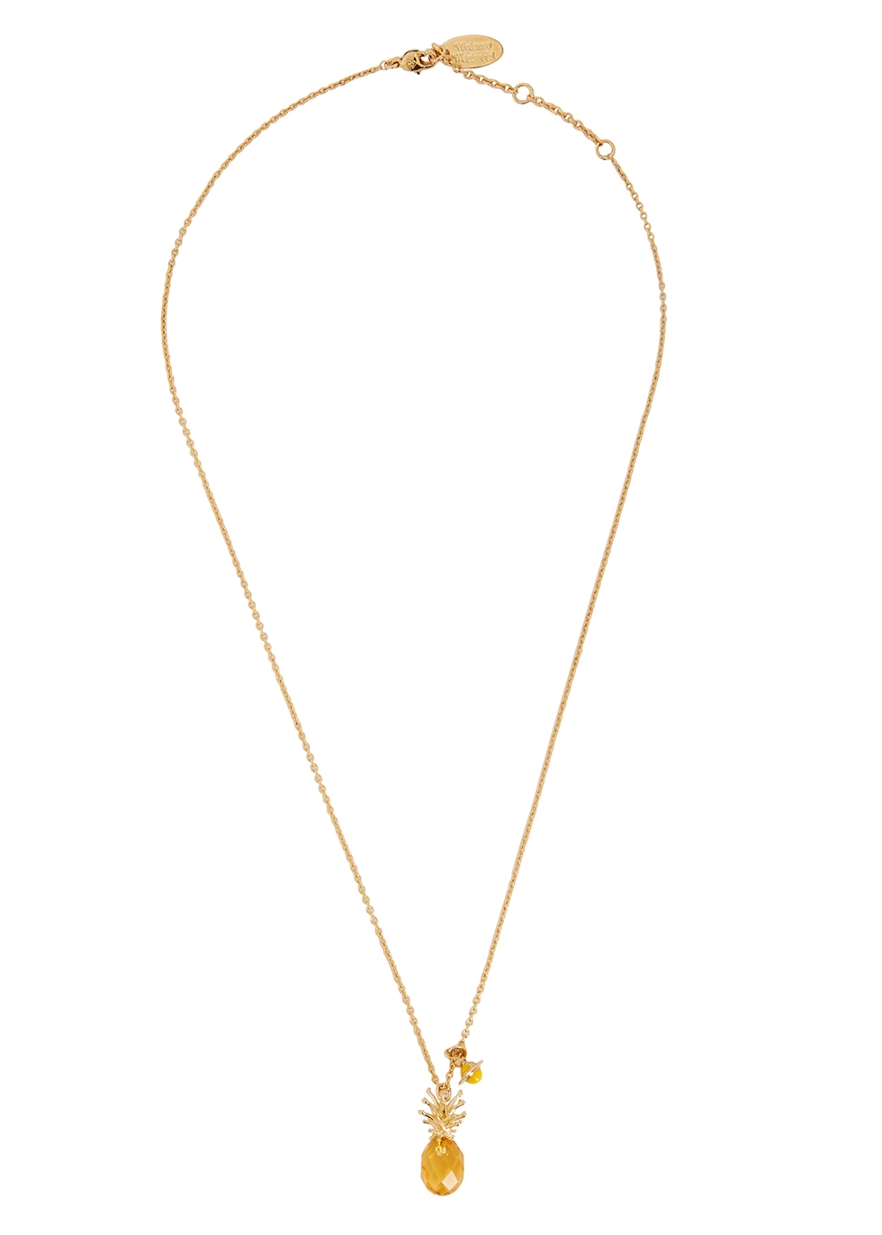 Pineapple gold-tone necklace - Vivienne Westwood