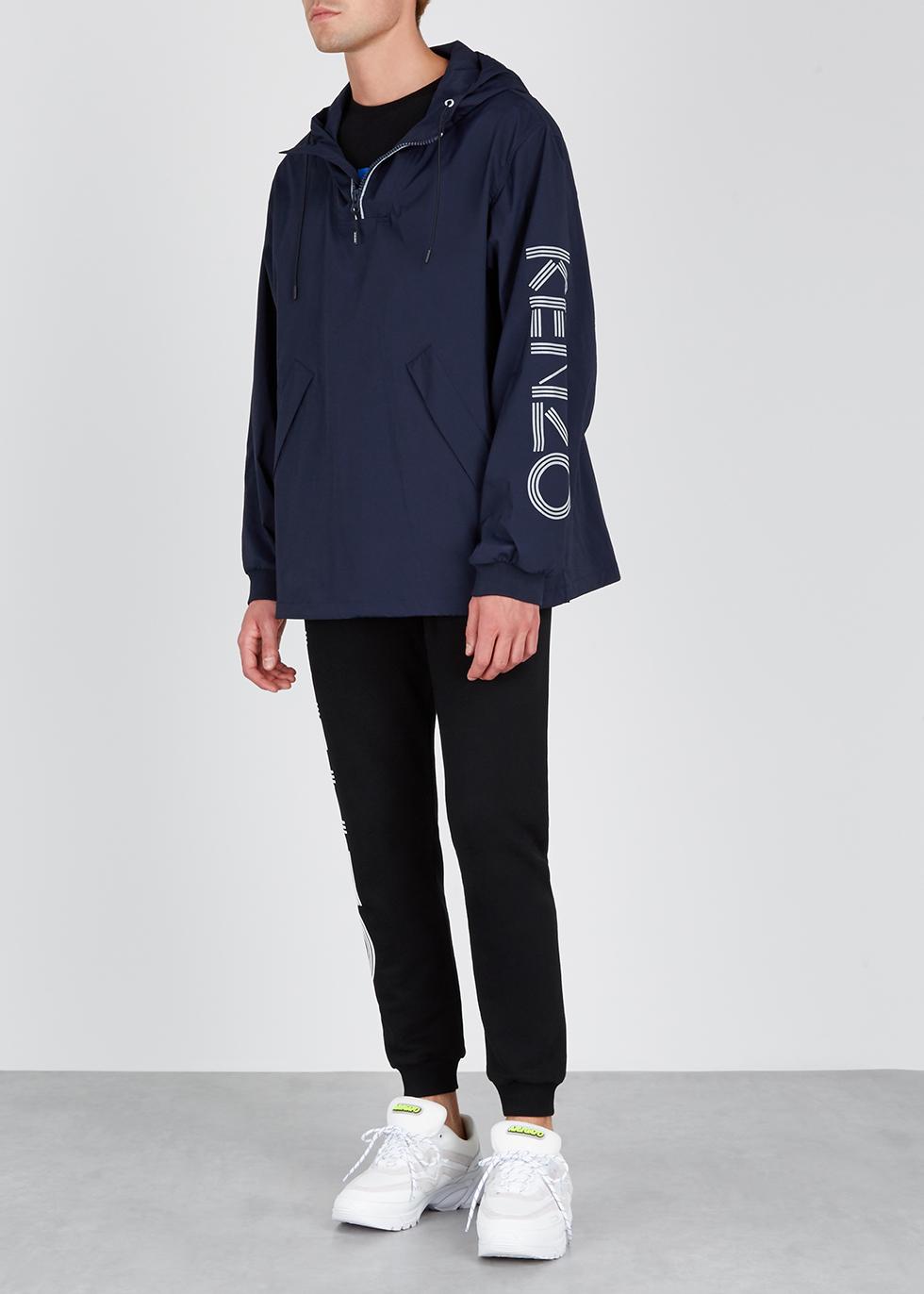 Navy logo shell jacket - Kenzo