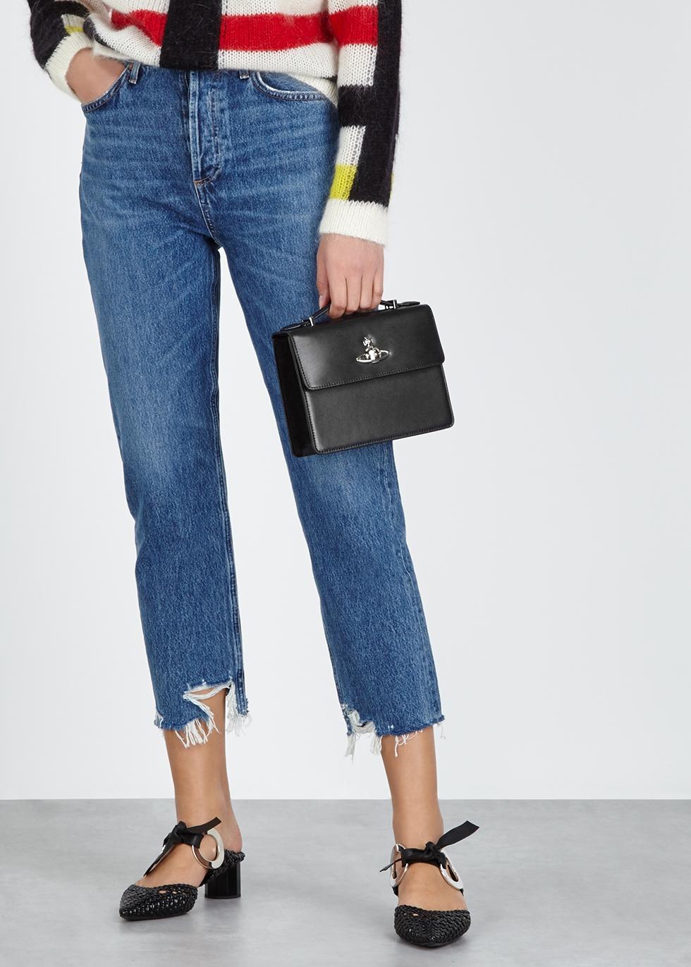 Vivienne Westwood Matilda medium leather shoulder bag - Harvey Nichols 7bb336d0b93aa