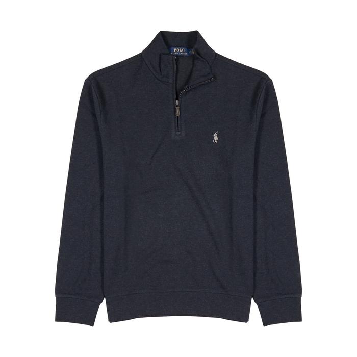 Polo Ralph Lauren Navy Cotton-blend Sweatshirt thumbnail