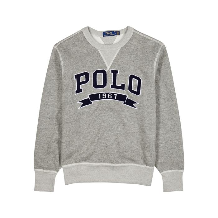Polo Ralph Lauren Logo-appliquéd Cotton-blend Sweatshirt thumbnail