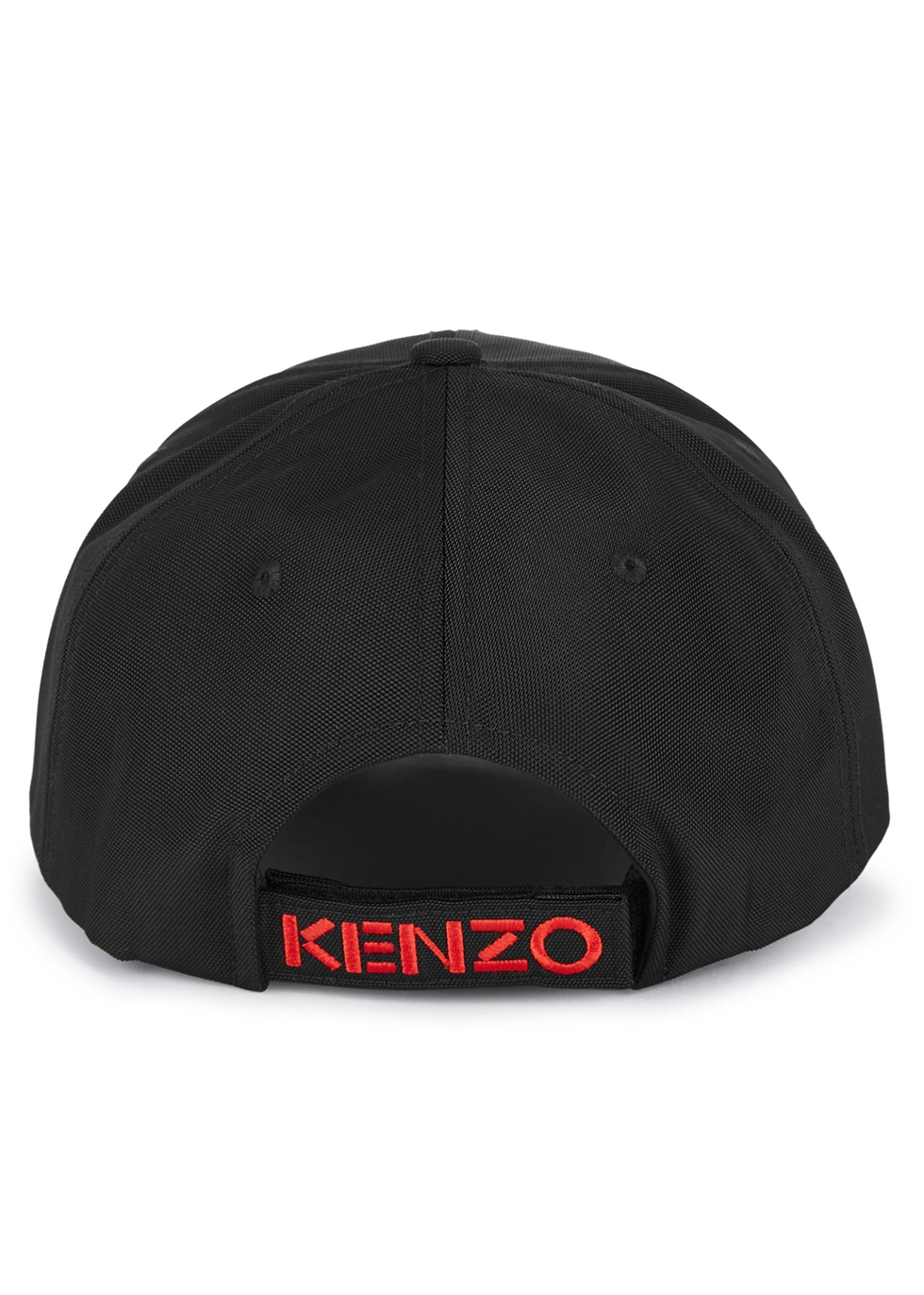 Tiger-embroidered canvas cap - Kenzo