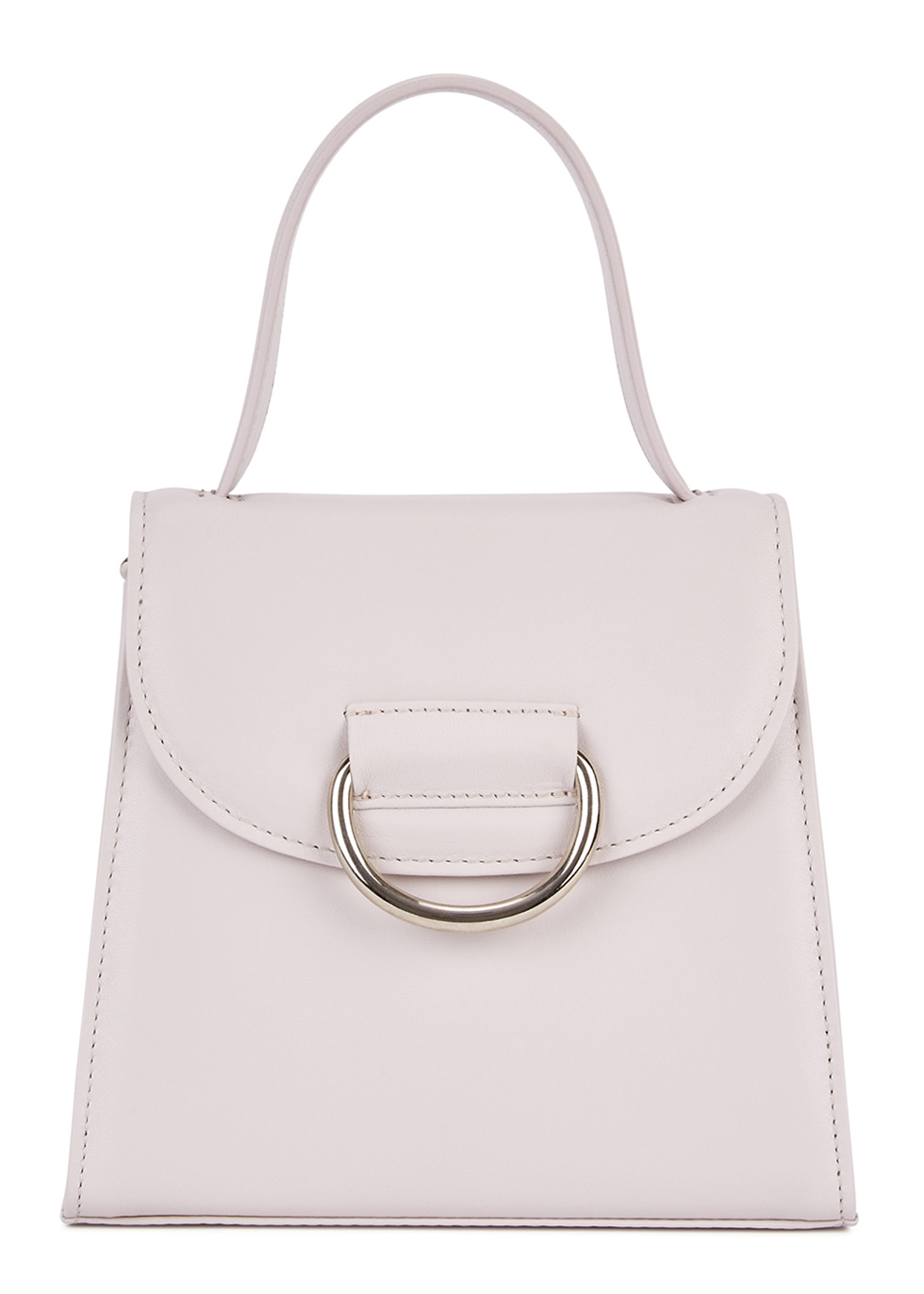 LITTLE LIFFNER Little Lady Leather Cross-Body Bag in Lilac
