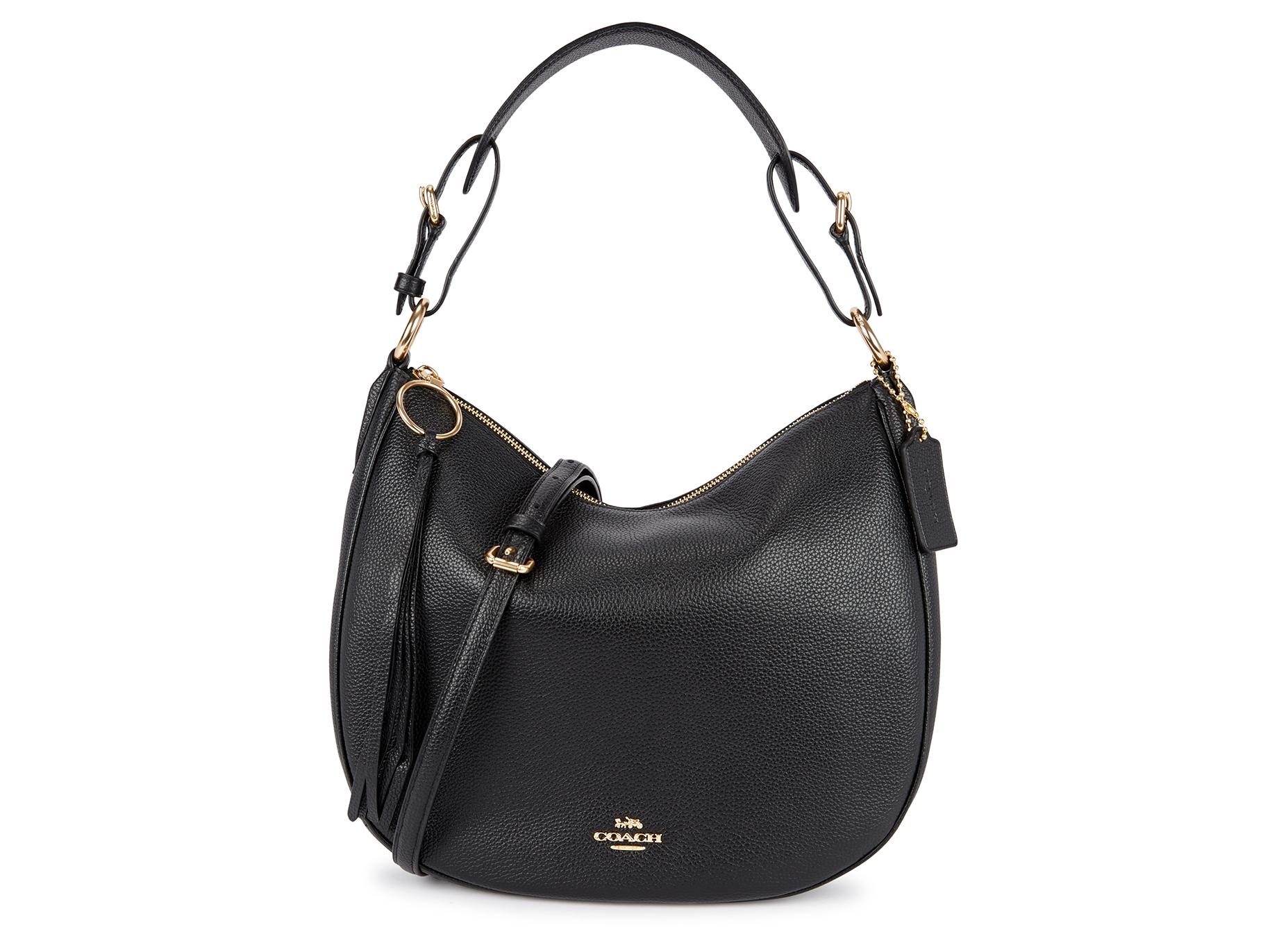 b1d2cfe1b777cf Coach Sutton black leather hobo bag - Harvey Nichols
