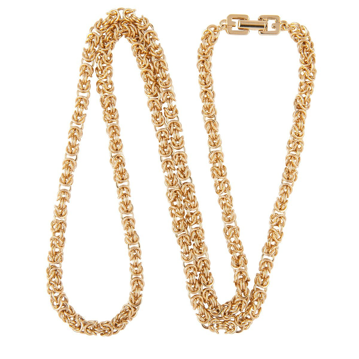 1980S Vintage Givenchy Elegant Chain Necklace