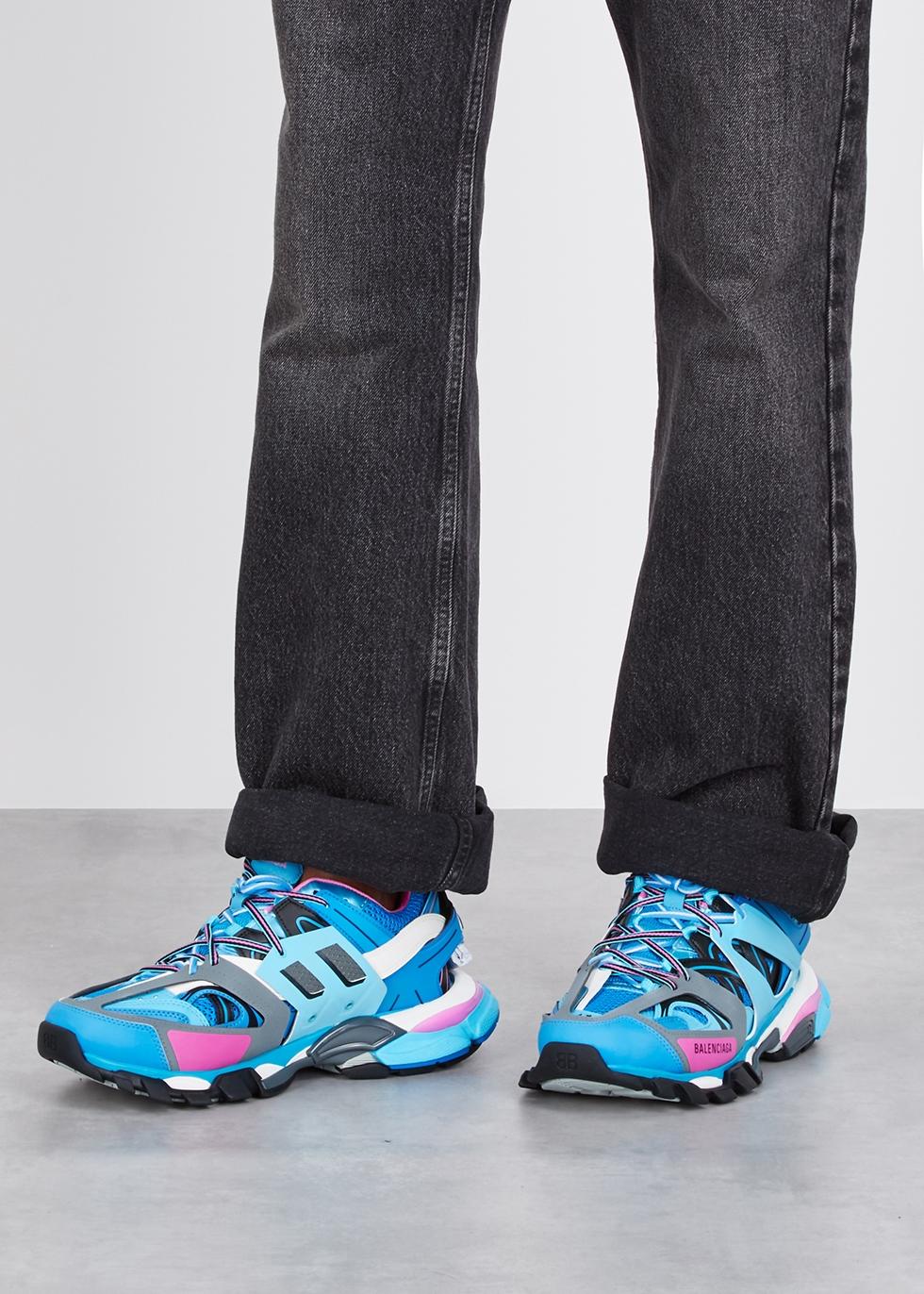 All The Balenciaga Track Sneakers On Feet {Miami