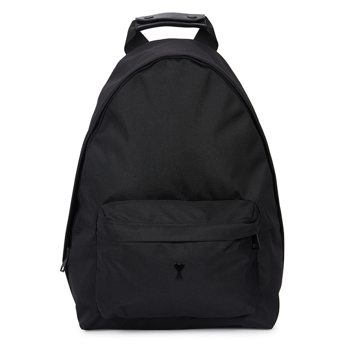 AMI Black Canvas Backpack
