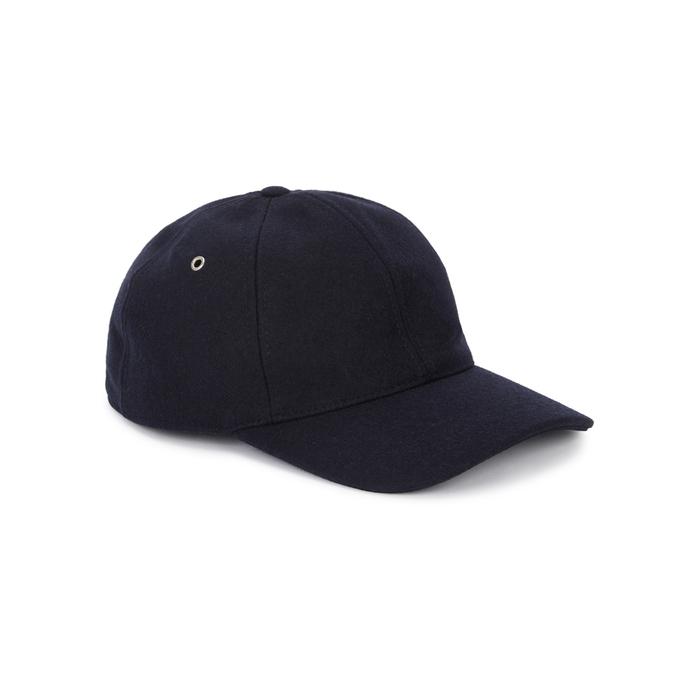 AMI Navy Felt Cap