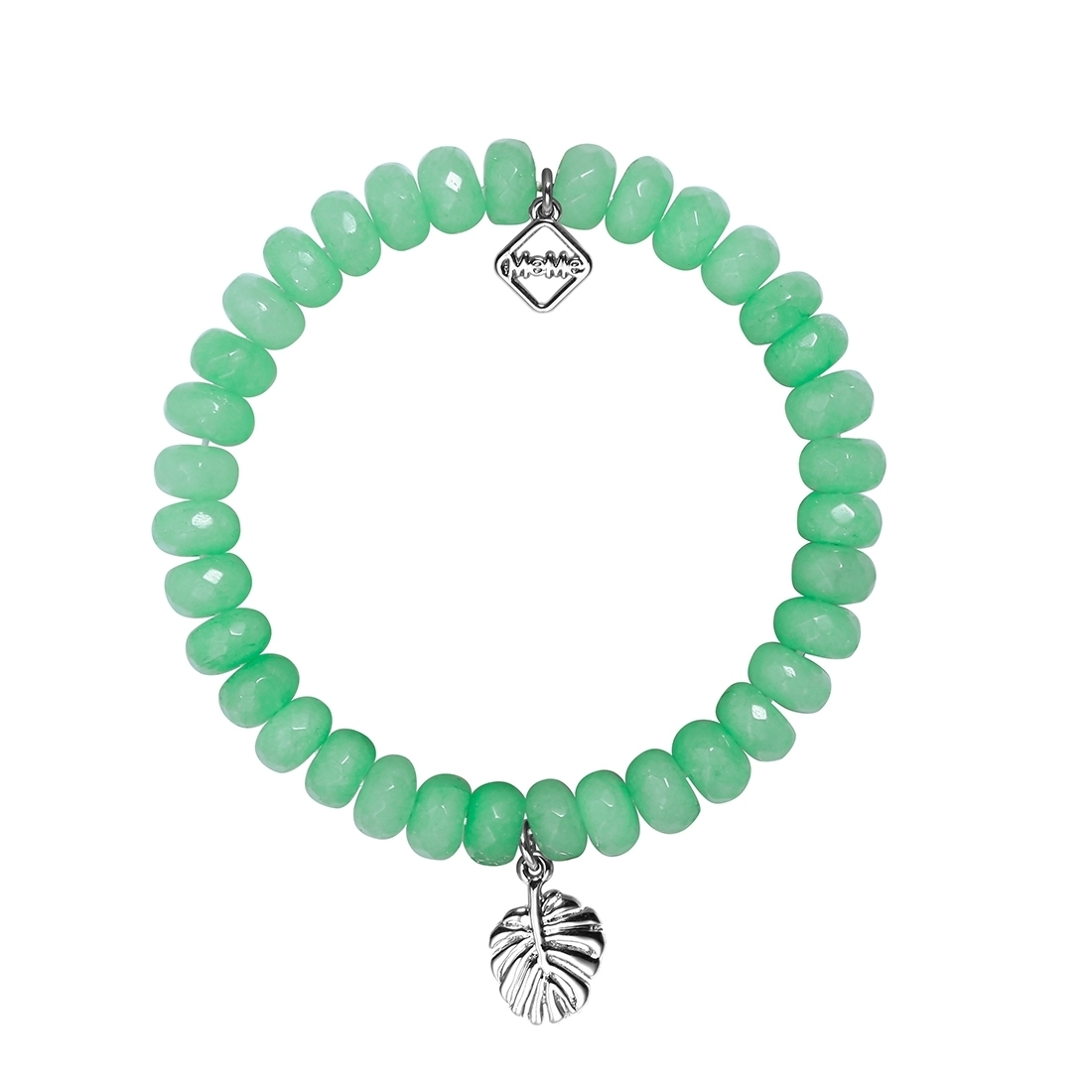 MEME LONDON Beverly Hills - Banana Leaf Green With White Gold