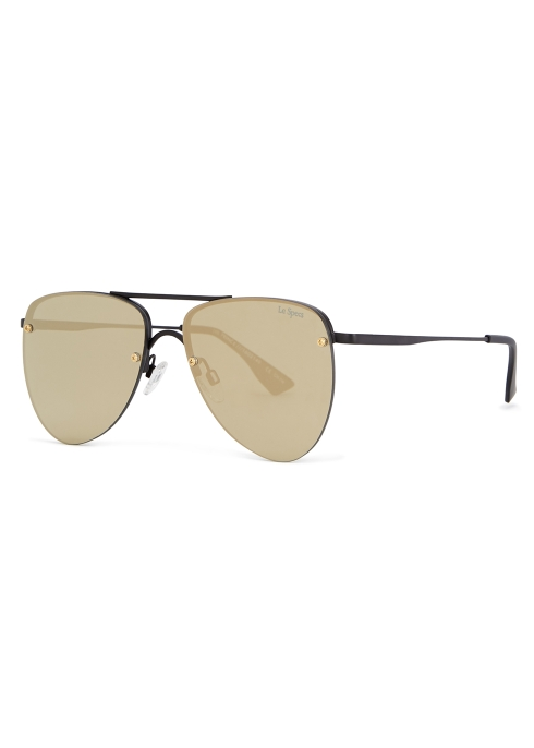 04976eacd3 Le Specs The Prince aviator-style sunglasses - Harvey Nichols