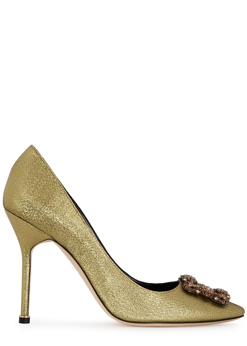 4ad242c0c379 Hangisi 105 glittered pumps ...
