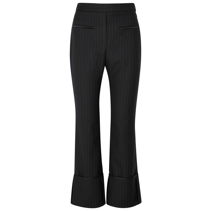 Ellery BEMBE PINSTRIPED STRAIGHT-LEG TROUSERS