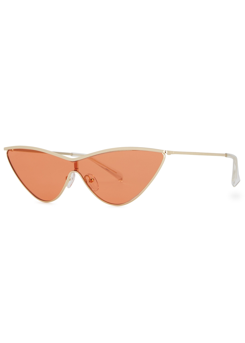 8a92b37208 Le Specs. X Adam Selman Fugitive cat-eye sunglasses. HK 720.00. The Prince  aviator-style sunglasses