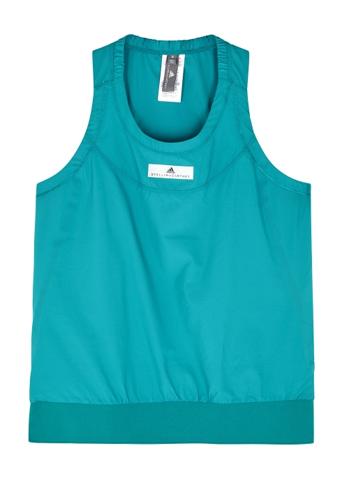 92a107ab77c adidas X Stella McCartney Run Adizero turquoise shell tank - Harvey ...