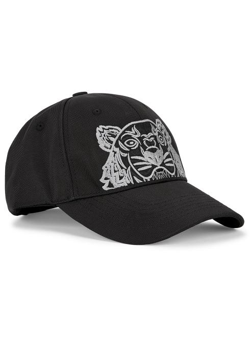 2a3de808c56 Kenzo Tiger-embroidered canvas cap - Harvey Nichols