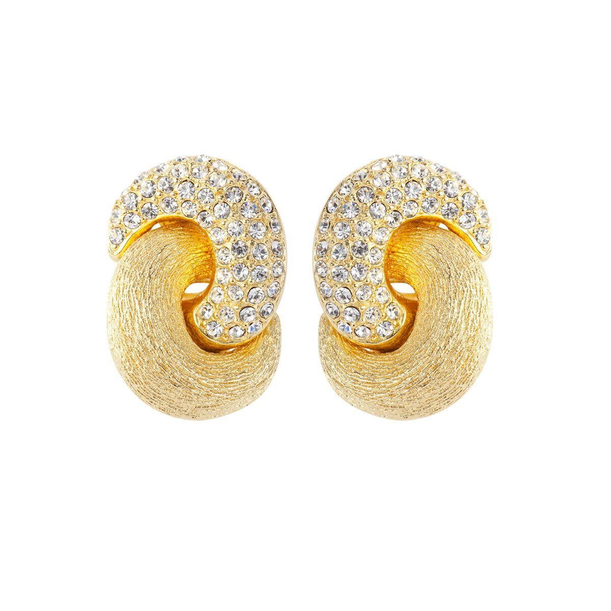 1980S Vintage Christian Dior Love Knot Earrings