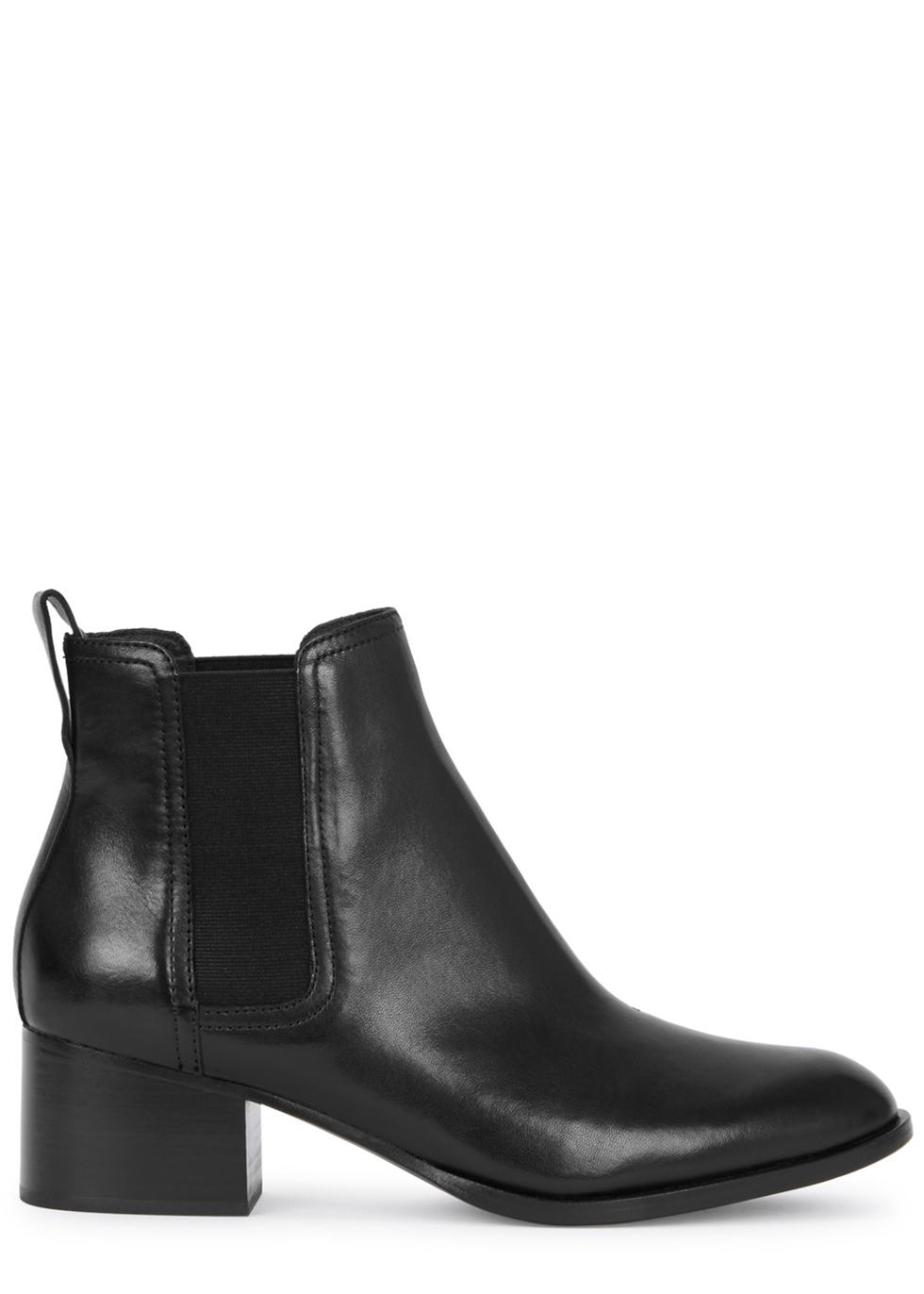 Walker 50 black leather ankle boots - rag & bone
