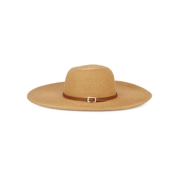 Melissa Odabash Jemima Sand Wide-Brim Hat In Beige  49640663cdcb