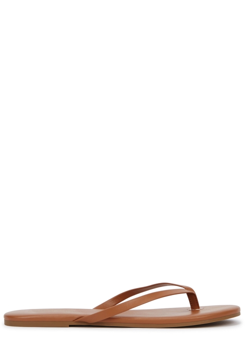 1db907d10 Melissa Odabash Tawny leather sandals - Harvey Nichols