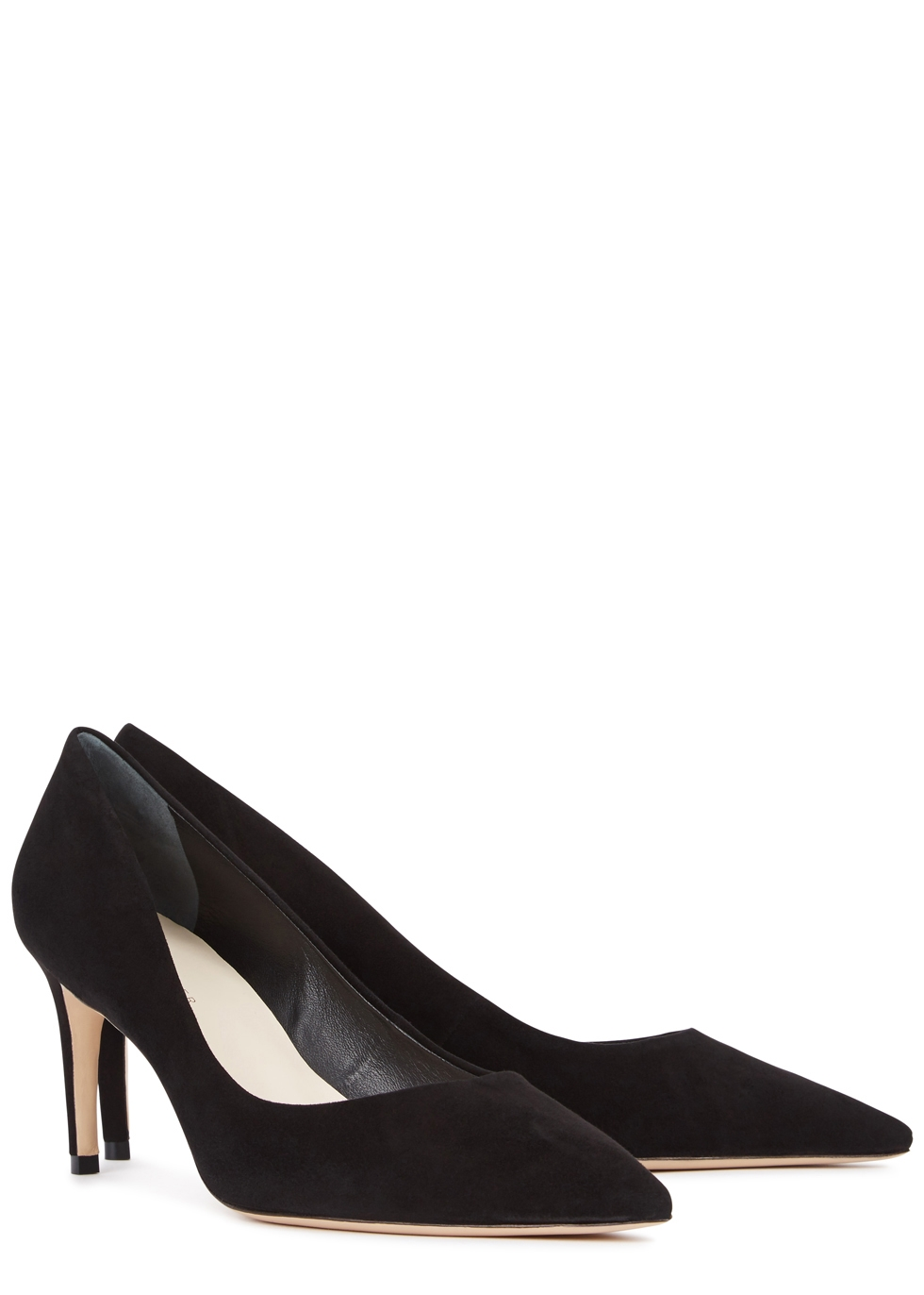 Rio 75 black suede pumps - Sophia Webster