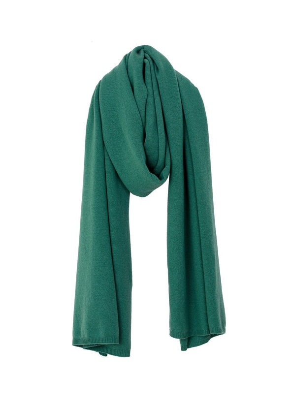 cb8d223c4fe Alma cashmere scarf in laurel green ...