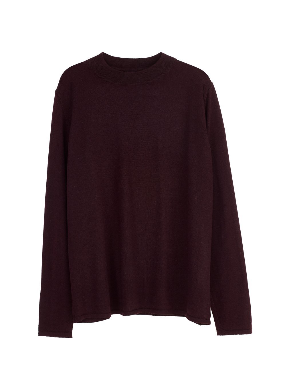 ARELA Joan Merino Wool Sweater In Cool Brown