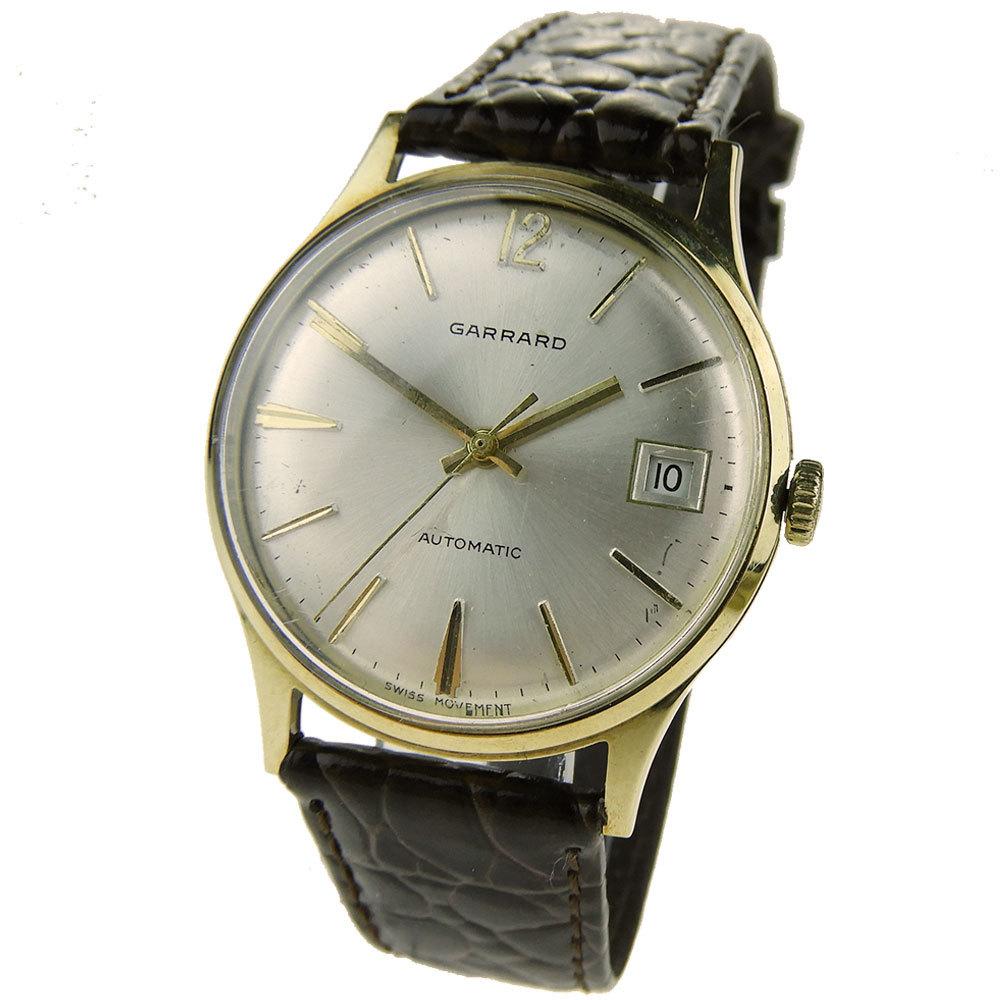 GARRARD Garrard 9Ct Gold Vintage Automatic