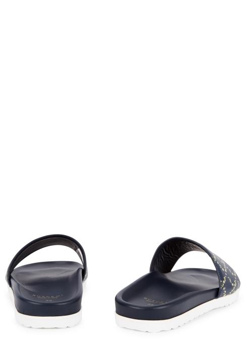 5d4216ac9 Buscemi Slides Sport logo leather sliders - Harvey Nichols