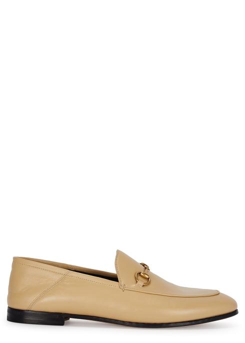 af65ad1fe4d Gucci Brixton horsebit leather loafers - Harvey Nichols