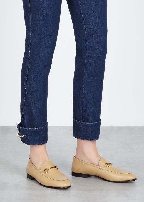 5190b78c3e3 Gucci Brixton horsebit leather loafers - Harvey Nichols