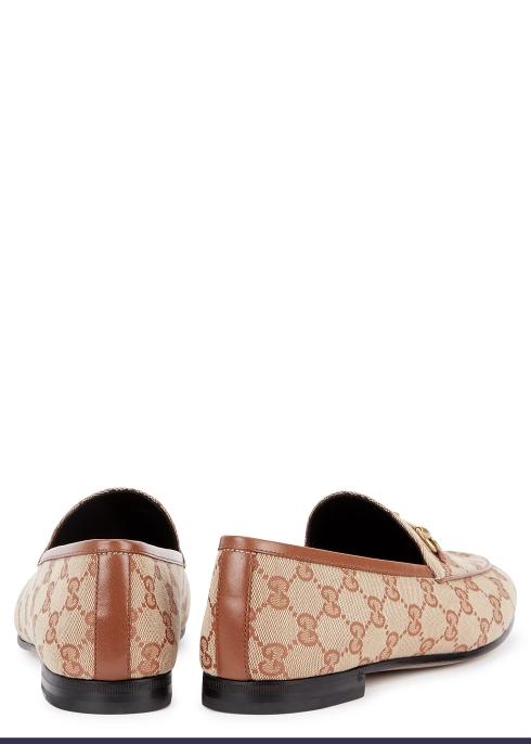 b4f762708ce Gucci Jordan monogrammed loafers - Harvey Nichols