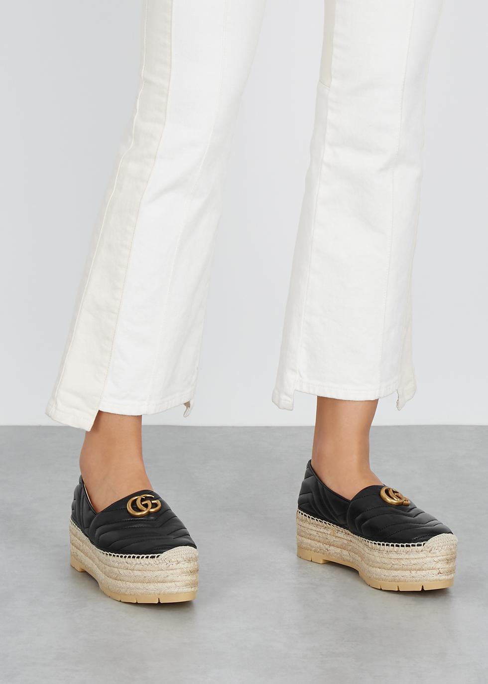 3cdd94783d4 Gucci Palmira 155 espadrille wedge sandals - Harvey Nichols