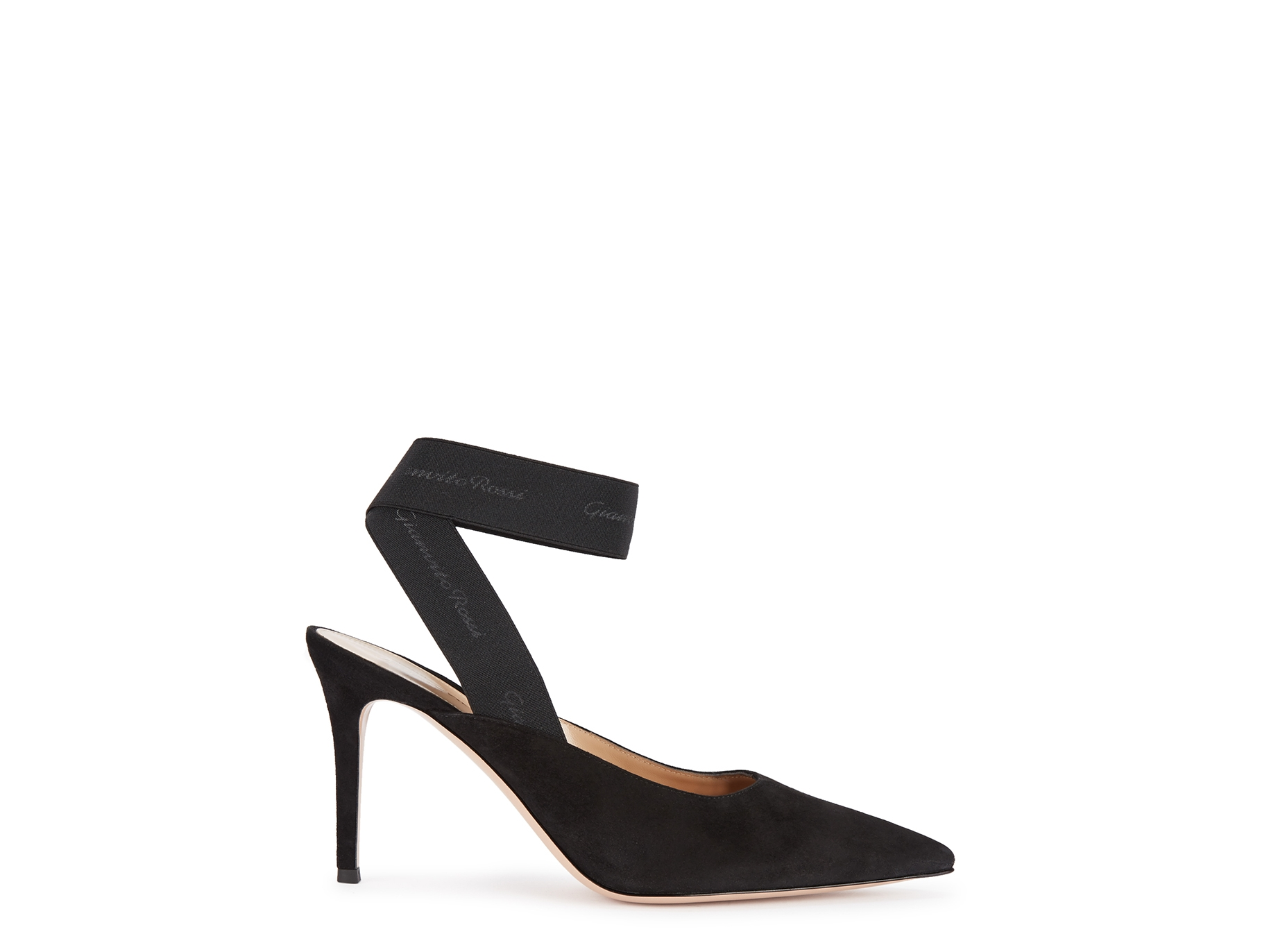 f25585fbcde Gianvito Rossi 85 black suede pumps - Harvey Nichols
