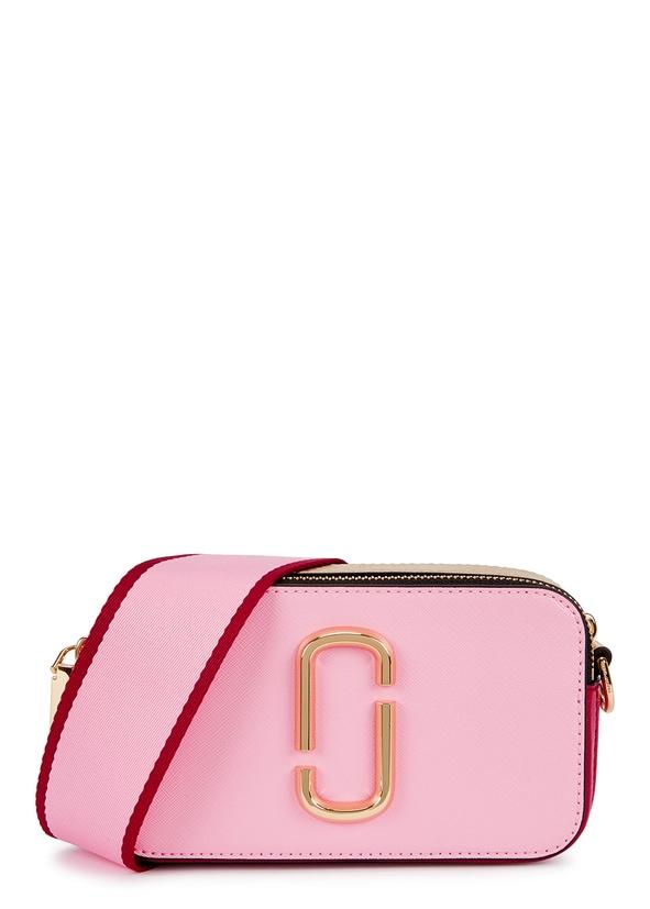 Snapshot pink leather shoulder bag ... c572693d1740