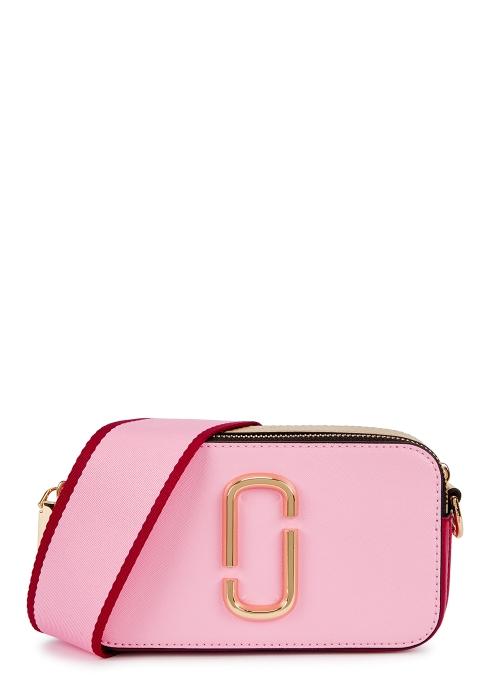 Marc Jacobs Snapshot pink leather shoulder bag - Harvey Nichols 214cd12f8057e