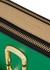 Snapshot green leather shoulder bag - Marc Jacobs