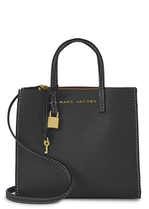 Marc Jacobs Grind mini leather cross-body bag - Harvey Nichols 836b4c8f827fa