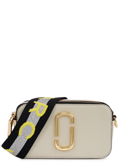 5621c97327339 Marc Jacobs Snapshot ecru leather shoulder bag - Harvey Nichols