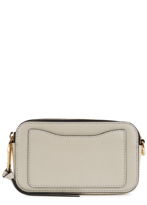 249c0aebedea Marc Jacobs Snapshot ecru leather shoulder bag - Harvey Nichols