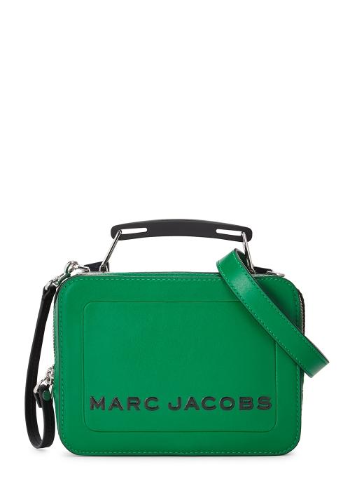 3b0b586eb1a6 Marc Jacobs The Mini green leather box bag - Harvey Nichols